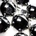 Krebs Bright Silver Glass Baubles - 8 x 67mm