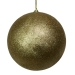 Gold Shatterproof Glitter Bauble - 250mm