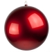Red Metallic Finish Shatterproof Bauble - 500mm