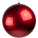 Red Metallic Finish Shatterproof Bauble - 600mm