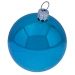 Luxury Aqua Turquoise Shiny Finish Shatterproof Bauble Range - Pack of 18 x 60mm