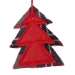 Red Tree Hanging Decoration - 10cm x 10cm