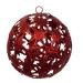 Red Die Cut Bethlehem Star Decoration - 100mm