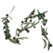Snowy Brown Jingle Bell Garland - 1.2m