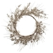 Champagne Festive Wreath With Fruits Decoration - 45cm