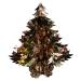 Coffee/Copper Laser/Gold Foil Hanging Tree Decoration - 40cm (16