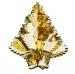 Gold/Cream Foil Hanging Tree Decoration - 40cm (16