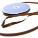 Brown Double Face Satin Ribbon - 50m x 10mm