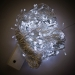 16m Length Of 200 White Multi Action Outdoor Premier Supabrights LED Fairy Lights Clear Cable