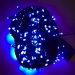 36m Length Of 360 Blue Multi Action Outdoor Premier Supabrights LED Fairy Lights Green Cable