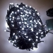 28.7m Length Of 360 White Multi Action Outdoor Premier Supabrights LED Fairy Lights Green Cable