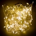 28.7m Length Of 360 Warm White Multi Action Outdoor Premier Supabrights LED Fairy Lights Clear Cable