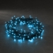 Konstsmide 8m Length Of 120 Blue Multi Function Outdoor Micro LED Fairy Lights. Black Cable.