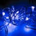 20 Blue Static Tear Drop Battery Operated LED Lights