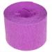 Violet Crepe Paper Streamer - 10m