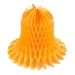 Gold Flame Resistant Honeycomb Paper Bell - 40cm