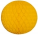 Gold Flame Resistant Honeycomb Paper Ball Hanging Decoration - 20cm