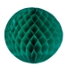 Green Flame Resistant Honeycomb Paper Ball Hanging Decoration - 30cm