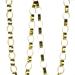 Gisela Graham Gold Foil Paper Chain - 180cm