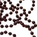 Ebony Brown Bead Chain Garland - 8mm x 10m