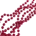Raspberry Bead Chain Garland - 8mm x 10m