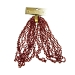 Dark Red Diamond Bead Garland - 2.7m