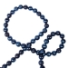 Blue Shiny Bead Chain Garland - 180cm