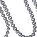 Silver Matt Bead Chain Garland - 180cm