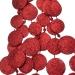 Red Glitter Disc Garland - 180cm