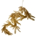 Glittered Gold Fir Pine Garland - 1.9m