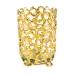 Gold Tea Light Holder - 8cm x 12cm