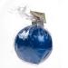 Non Drip Blue Bauble Candle - 9cm