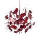 Firework Hanging Decoration With Red Sequin Detail - 18cm