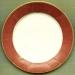 Moire Rust Paper Dinner Plates