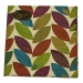 Falling Leaves Geometric Shapes Design Napkins
