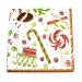 Christmas Lunch Napkins - Christmas Sweets
