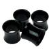 Black Napkin Rings - 4 Pack