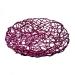Pink Glittered Rattan Bowl - 40cm
