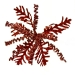 Red Leaf And Spring Coral Clip - 18cm