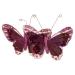 Red 13cm Velvet Butterflies On A Clip