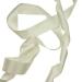 Ivory Wide Satin Ribbon - 20m x 25mm
