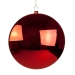Red Disc Hanging Decoration - 30cm